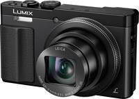 Panasonic DMC-TZ71EG-K Digitális kamera 12.1 MPix Optikai zoom: 30 x Fekete Ház, Akkuval WiFi Panasonic
