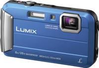 Panasonic DMC-FT30EG-A Digitális kamera 16.1 MPix Optikai zoom: 4 x Kék Víz alatti kamera, Fagyálló, Fröccsenő víz elle Panasonic