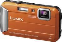 Panasonic DMC-FT30EG-D Digitális kamera 16.1 MPix Optikai zoom: 4 x Narancs Víz alatti kamera, Fagyálló, Fröccsenő víz Panasonic