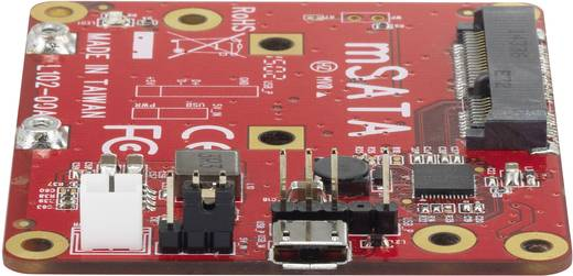 Átalakító, USB-ről mSATA-ra, Renkforce Raspberry Pi