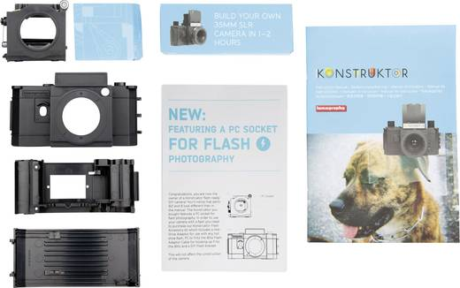 Filmszalagos fényképezőgép építőkészlet Konstruktor F