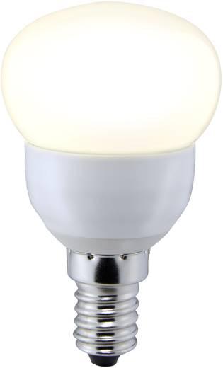 LED-es fényforrás, E14, 3,6 W=25 W, melegfehér, A+, csepp forma, Sygonix