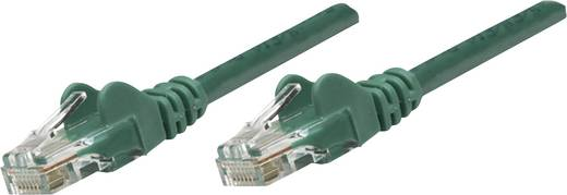 RJ45-ös patch kábel, hálózati LAN kábel CAT 6 S/FTP [1x RJ45 dugó - 1x RJ45 dugó] 5 m Zöld Intellinet