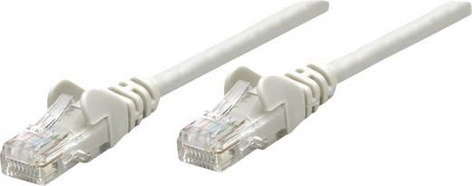 RJ45-ös patch kábel, hálózati LAN kábel CAT 5e U/UTP [1x RJ45 dugó - 1x RJ45 dugó] 1 m Szürke Intellinet