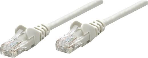 RJ45-ös patch kábel, hálózati LAN kábel CAT 5e U/UTP [1x RJ45 dugó - 1x RJ45 dugó] 5 m Szürke Intellinet