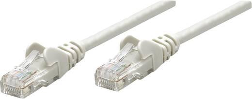 RJ45-ös patch kábel, hálózati LAN kábel CAT 5e U/UTP [1x RJ45 dugó - 1x RJ45 dugó] 10 m Szürke Intellinet