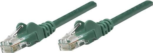 RJ45-ös patch kábel, hálózati LAN kábel CAT 6A S/FTP [1x RJ45 dugó - 1x RJ45 dugó] 10 m Zöld Intellinet