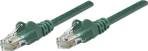RJ45-ös patch kábel, hálózati LAN kábel CAT 6 U/UTP [1x RJ45 dugó - 1x RJ45 dugó] 3 m Zöld Intellinet