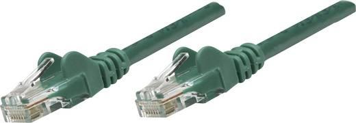 RJ45-ös patch kábel, hálózati LAN kábel CAT 6 U/UTP [1x RJ45 dugó - 1x RJ45 dugó] 7.50 m Zöld Intellinet