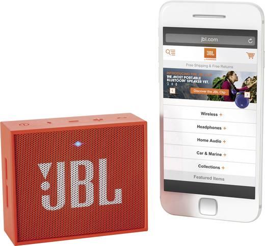 Bluetooth hangszóró narancs színű JBL Go