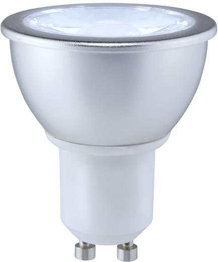 LED-es fényforrás Sygonix High LED GU10 7W=50W semleges fehér, EEK: A+, reflektor 25°