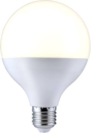 LED-es fényforrás Sygonix LED E27 10W=65W melegfehér gömbforma, matt