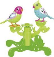 Digibirds éneklő madárkák fa állványon, Silverlit Silverlit