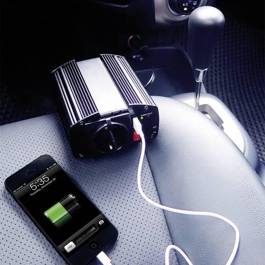 Szivargyújtós feszültségátalakító inverter, USB-vel 120W 12V/DC LogiLink PA0080