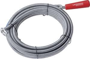 Csőgörény, cső és lefolyótisztító spirálkábel 9 mm x 5 m Rothenberger Industrial 1500000140 Rothenberger Industrial