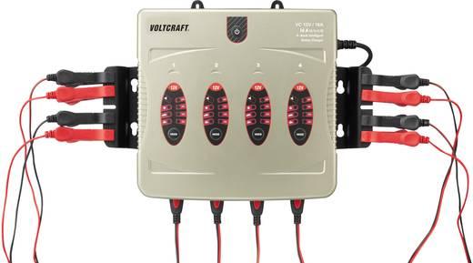 Automatikus akkutöltő 12V / 16A 4-szeres, Voltcraft