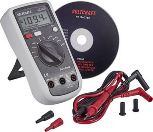 Digitális multiméter, True RMS mérőműszer CAT III 600V, 10A AC/DC VOLTCRAFT VC165