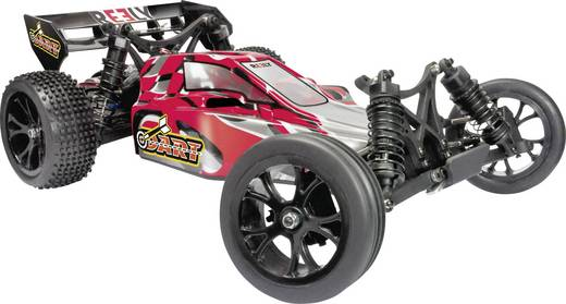 RC offroad Buggy modellautó, 1:10 2WD RtR 2.4 GHz Reely Dart RH2011
