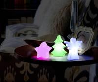 LED-es dekoráció, csillag, fehér, elemes, Polarlite LBA-51-012 (LBA-51-012) Polarlite