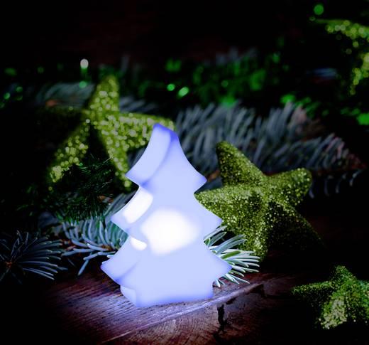 LED-es asztaldekoráció, karácsonyfa, Polarlite