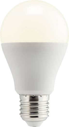 LED izzó, körte forma, dimmelhető, 108 mm 230 V E27 10 W = 60 W melegfehér A+, sygonix
