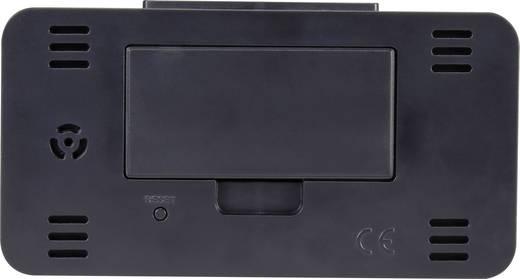 Rádiójel vezérelt ébresztőóra, fekete, renkforce KW-9281