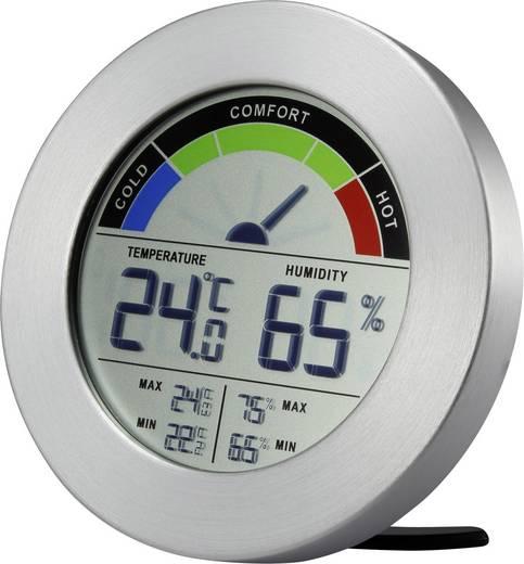 Hőmérséklet és légnedvesség mérő komfortkijelzéssel, renkforce