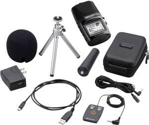 Zoom H2n Bundle APH-2n Hordozható audio felvevő Fekete Zoom