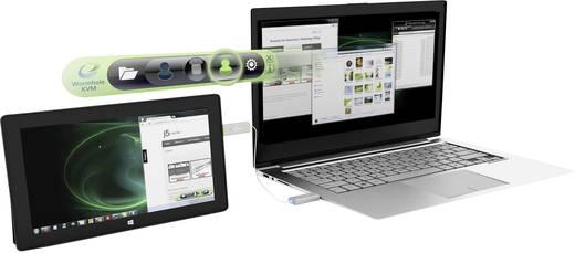 USB 3.0 KVM és grafikus kártya kábel j5Create JUC700