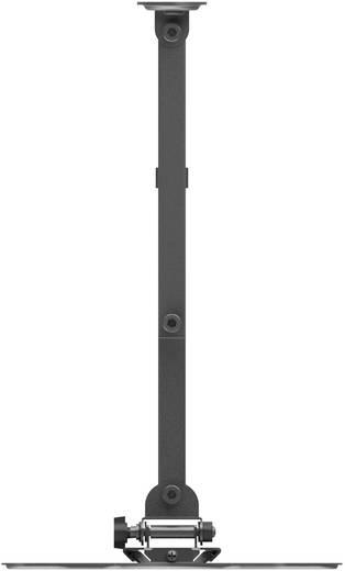Fali TV tartó 23 (58,4 cm) - 42 (107 cm) ezüst/fekete, Speaka Professional