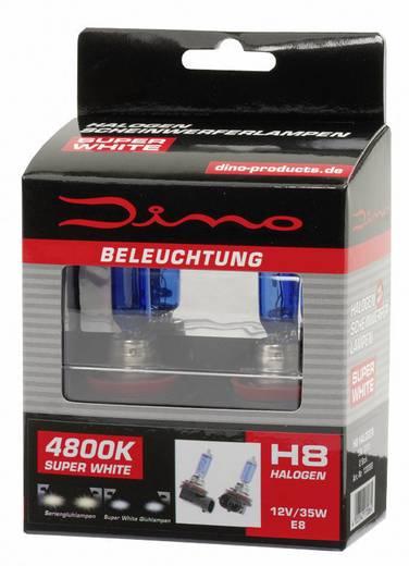 Fényszóró lámpa Super-White XENON-Look 12 V 1 pár, kék DINO 130069