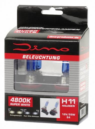DINO Fényszóró lámpa Super-White XENON-Look 12 V 1 pár PGJ19-2, kék
