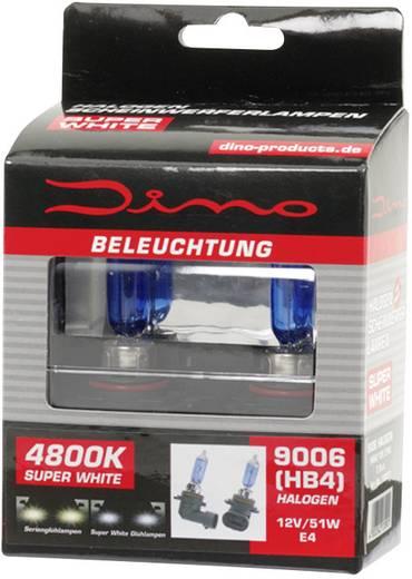 DINO Fényszóró lámpa Super-White XENON-Look 12 V 1 pár P22d, kék