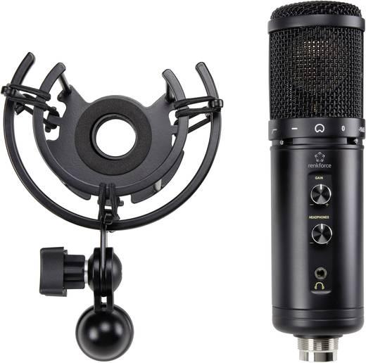 USB-s stúdió mikrofon, Renkforce ST-60
