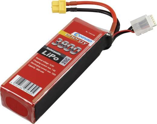 Akkucsomag, LiPo 14.8 V 3800 mAh 20 C Conrad energy XT60