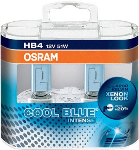 OSRAM COOL BLUE® INTENSE 12 V 12 V 1 pár P22d (Ø) 12 mm