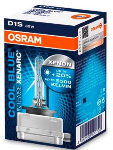 OSRAM XENARC® COOL BLUE® INTENSE D1S 85 12 V85 V PK32D (Ø) 9 mm