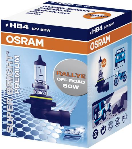 OSRAM OFF ROAD SUPER BRIGHT PLUS HB4 12 12 V P22d (Ø) 12 mm