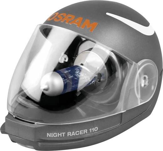 OSRAM Motorkerékpár izzó,, NIGHT RACER H4 12 V 12 V 1 pár P43t (Ø) 13 mm