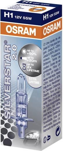 OSRAM SILVERSTAR® 2.0 H1 12 12 V P14.5s (Ø) 9 mm