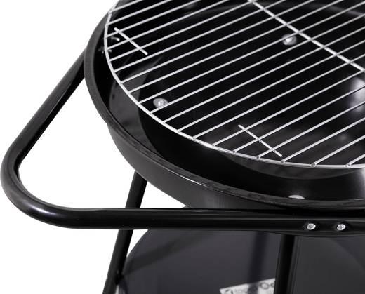 Faszenes grillsütő, kerti grill 485mm fekete színű tepro Highland 1067