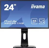Iiyama ProLite XB2481HS-B1 LED monitor (felújított) 59.9 cm (23.6 coll) EEK B (A+++ - D) 1920 x 1080 pixel Full HD 6 ms Iiyama