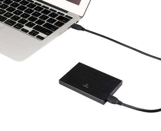 SATA merevlemez ház USB 3.0, 2,5-os alumínium