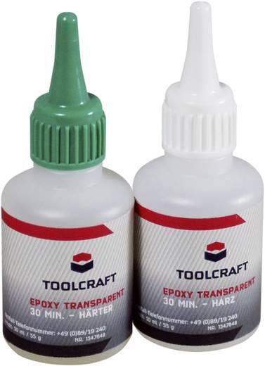Epoxy gyanta készlet, átlátszó, TOOLCRAFT EPOT30