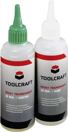 Epoxy gyanta készlet, átlátszó, 2 x 100 g, TOOLCRAFT EPOT30