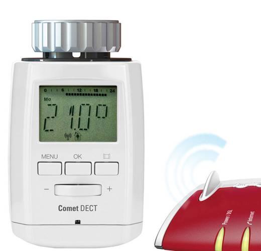 Vezeték nélküli termosztátfej, radiátor termosztát, Eurotronic COMET DECT
