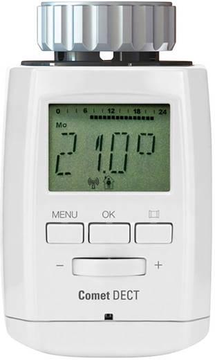 Vezeték nélküli, programozható digitális radiátor termosztát, Eurotronic COMET DECT