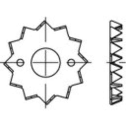 TOOLCRAFT Fa összekötő DIN 1052 Acéllemez, tűzihorganyozott 100 db 135725