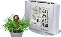 Vezeték nélküli időjárásjelző állomás talajnedvesség mérővel, ezüst, Bresser Optik (7020400) Bresser Optik