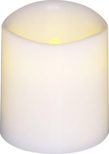 LED-es viaszgyertya 4 részes készlet, fehér színű 3.8 x 4.2 cm Polarlite LBA-30-005